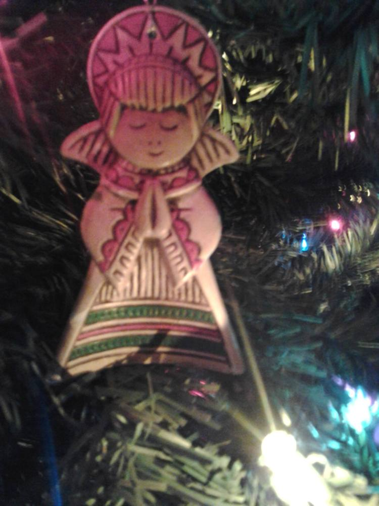 Picture of a Christmas ornament