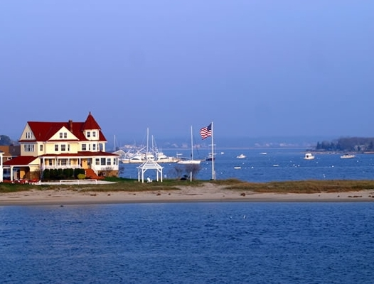 Picture of Onset Bay and Point Independence with an Inn